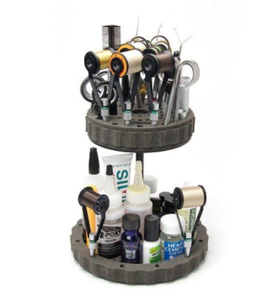画像1: CFT-176 ロータリーツールスタンドダブルデッキ Rotary Tool Stand DD (1)