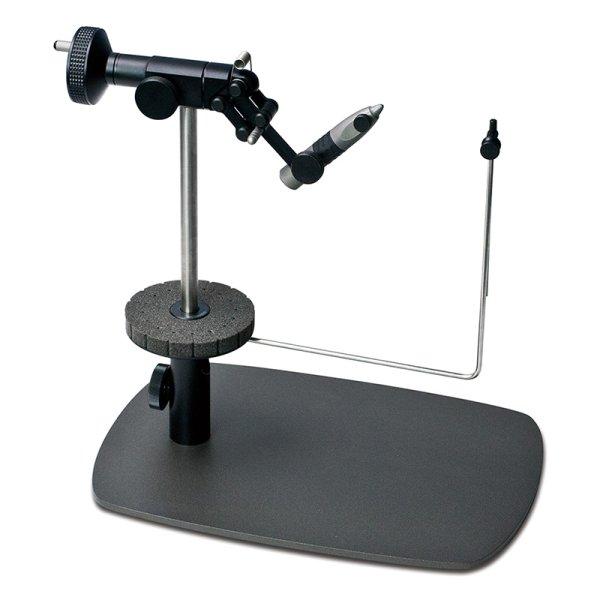 """画像1: CFT-9000/BK """"リファレンス""""ペデスタルフライタイイングバイス ブラック Black Reference Pedestal Fly Tying Vise (1)"""