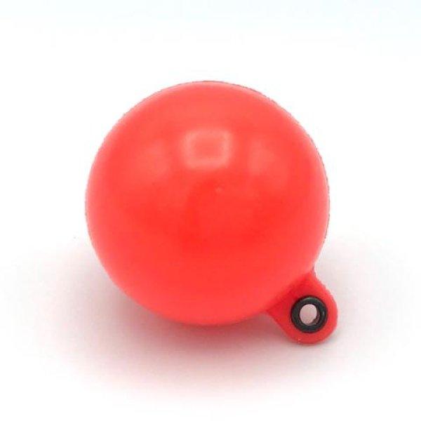 画像1: Thingamabobber(シンガマボバー) (XLサイズ) 直径3センチ ファイヤーレッド(1個) (1)